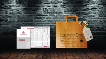 LAUNDRY LEAFLETS & BAGS: ROCABELLA HOTELS, POME GRANATE SPA HOTEL