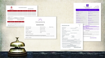 REGISTRATION CARD: POMEGRANATE SPA HOTEL, ILIOVASILEMA SUITES, ROCABELLA HOTELS
